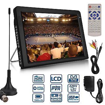 Kannettava Dvb Tft Led Hd Tv Televisio Digitaalinen Analoginen Ac/dc