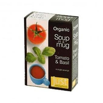 Just Natural - Org Soup Tomato & Basil 4 x 17g