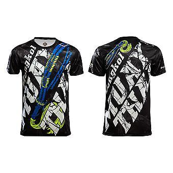 T-Shirt Muay Thai Top Tajski Boks MMA Sport Wear Unisex - (Czarny)