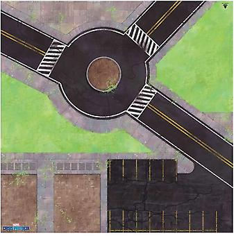 Marvel Crisis Protocol Roundabout Knockout Game Mat