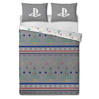 Playstation Jumper Dubbele Kerst Dekbed Cover Set