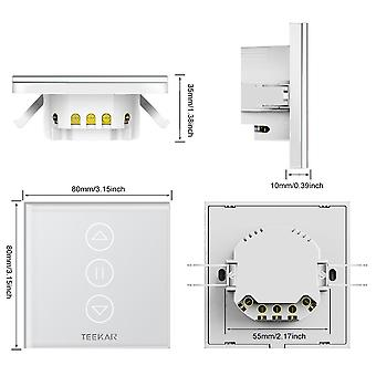 4th Generation Tuya Smart Curtain Switch Eu Standard Fr Electric Motorized