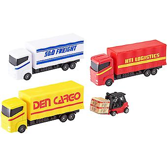 Teamsterz Die-cast Load & Go Playset | Colours May Vary