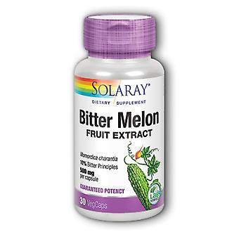 Extrait de fruit de melon amer Solaray, 500 mg, 30 Caps