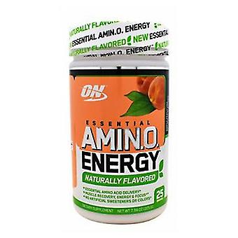 Optimum Nutrition Essential Amino Energy, Peach Tea 25 Portions