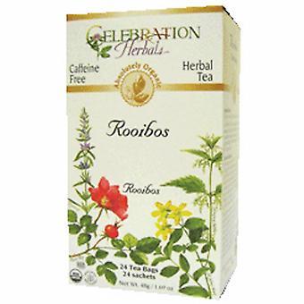 Celebration Herbals Organic Rooibos Red Tea, 24 Bags