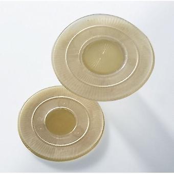 Coloplast Ostomy Pohjalevy Assura AC Easiflex 0 -1 Tuuma, Violetti 10 Count