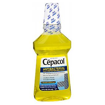 Cepacol Antibacterial Mouthwash With Ceepryn Gold, 24 oz