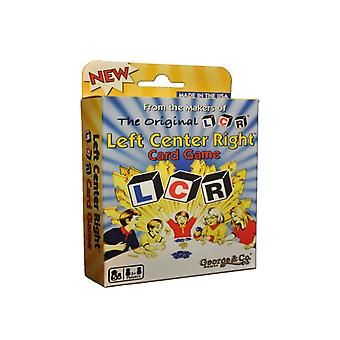 Left Center Right Card Game