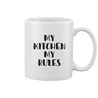 مطبخي قواعدي تصميم القدح -صورة من قبل Shutterstock