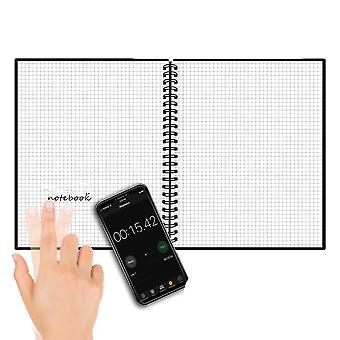 A6 Smart Reusable/erasable Notebook Lined With Pen (6.7inch X 4.2inch/40pages)