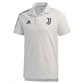 2020-2021 Juventus Pikétröja (Grå)