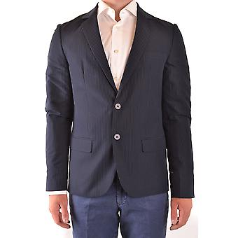Antony Morato Ezbc147002 Men's Blue Cotton Blazer