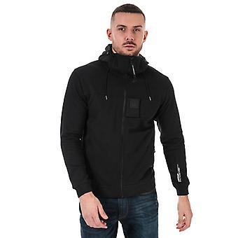 Men's C.P. Company Urban Protection Zip Hoody in Black