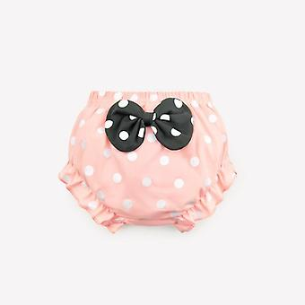 Cotton Underwear Panties Girl/baby Infant Cute Big Bow Dots Shorts