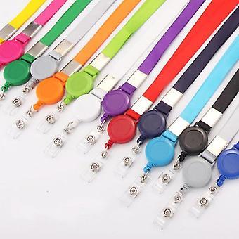Einziehbarer Lanyard-Halsgurt für Badge Holder-Bürobedarf