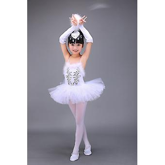 Professional Swan Lake Ballet Tutu Costume,/children/kids Ballet Dancewear