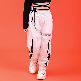 Kinder Hip-Hop Kleidung Sweatshirt, lässige Hose für Mädchen Ballsaal tanzen