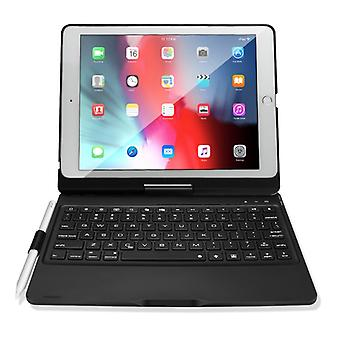 DUX DUCIS Ultra-thin ABS Wireless Keyboard Protective Case for iPad 9.7 Inch (Black)