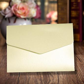 A6 Pocketfold Invitations Opal A6 Pearlescent Pack of 10