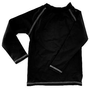 Aqua Perla Boy Andy Black Spf50+ Rash Vest