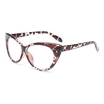 Cat Eye optiske rammer vintage briller gjennomsiktig datamaskin mote merke