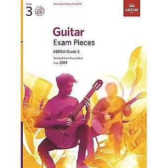 Abrsm: Guitar Exam Pieces From 2019 - Grade 3 (Buch/Cd)