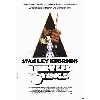 A Clockwork Orange Movie Poster (11 x 17)