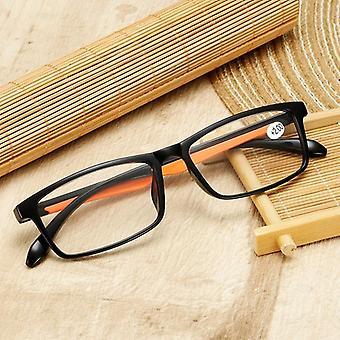 Tr90 Ultraleichte Lesebrille, klare Objektivbrille & Leserbrille +1,5 2,0