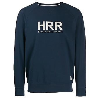 Hackett HRR Embroidered Sweatshirt Mens Casual Logo Jumper Navy HM580656 595