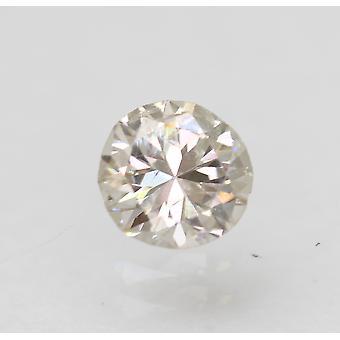 معتمد 0.35 قيراط K اللون SI1 جولة رائعة الطبيعية فضفاضة الماس 4.59mm