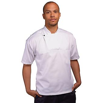 AFD Mens Short Sleeve Chefs Tunic
