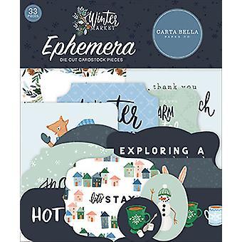 Carta Bella Winter Market Ephemera