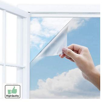 Length One Way Mirror Window Film.self-adhesive Reflective Privacy Glass Tint