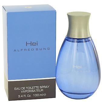Hei by Alfred Sung Eau De Toilette Spray 3.4 oz / 100 ml (Men)