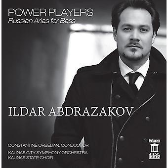 Rachmaninov/Glinka/Borodin/Mussorgsky/Rubinstein/T - Power Players: Russian Arias for Bass [CD] USA import