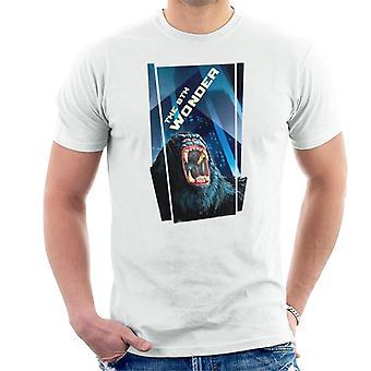 King Kong La 8a Maravilla Rugido Ira En La Ciudad Hombres's Camiseta