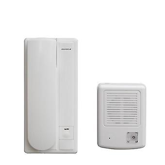 Bedrade bediening, automatische deurvergrendeling en ontgrendelingsfunctie, audiointerphone