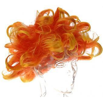 Pruik Holland Unisex Oranje One-Size