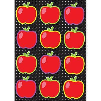 Diegeschnittene magnetische Äpfel, 12 Stück