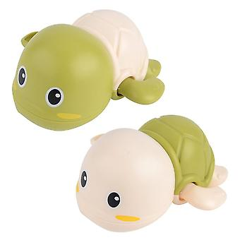 Cute Cartoon Wind-up Turtle Toddler Bath Toy