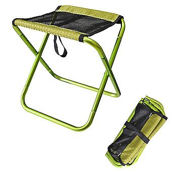 Outdoor Breathable Mesh Folding Stool