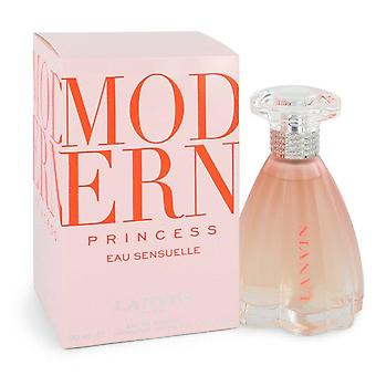 Moderne prinses Eau Sensuelle Eau De Toilette Spray door Lanvin 3 oz Eau De Toilette Spray