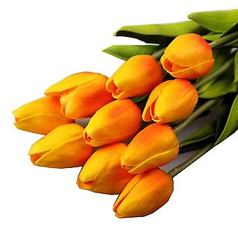 Real Touch Soft Silicone Artificial Tulips Flower For Home Wedding Decoration