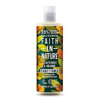 Faith In Nature: Grapefruit & Orange Conditioner - 400ml