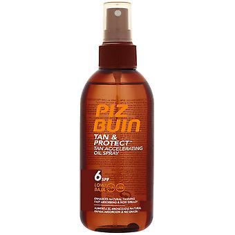 Piz Buin Spray Solaire Bronzage Intensif & Protecteur Spf6 150 ml