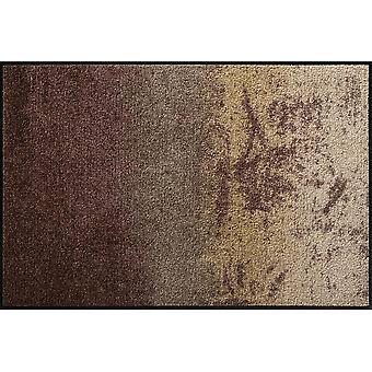 Salong lejon fot matta tvättbara Shabby brun 50 x 75 cm SLD0814-050 x 075