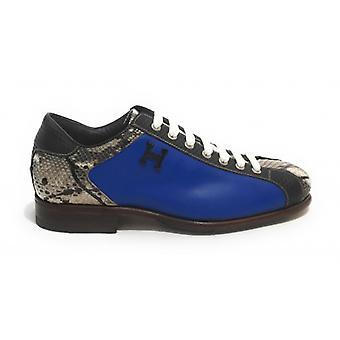 Men's Shoes Harris High-Quality Leather Soccer Bottom Rock/ Fluo Azzurro/ Kubric Black U17ha151