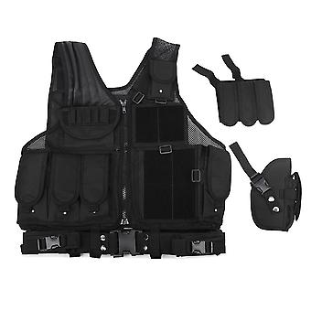 Military Tactical Vest Molle Combat Assault Plate Carrier Tactical Vest Outdoor Clothing Hunting Vest