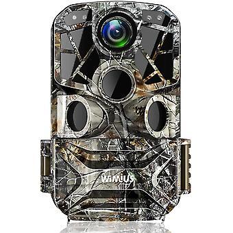 Wokex H8 WLAN Wildkamera 24MP 1296P Video WiFi Wildkamera mit Bewegungsmelder Nachtsicht, 120
